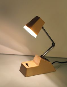 Windsor - Vintage Modern Folding Desk Lamp. $10.00, via Etsy.