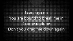 Breaking Benjamin - Hollow / Lyrics