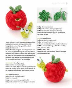Zoomigurumi 4 – Part Crochet Baby Toys, Crochet Bunny, Crochet Animals, Crochet Dolls, Crochet Fruit, Crochet Food, Crochet Flowers, Animal Knitting Patterns, Crochet Amigurumi Free Patterns