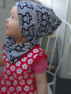 Check out this item in my Etsy shop https://www.etsy.com/listing/478567919/cute-grey-monkey-beanie-and-tube-scarf