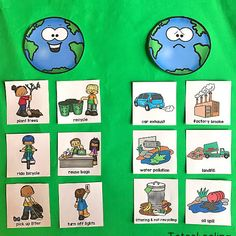 FREE Earth Day tracing sheets including pictures and words that kids can trace. Perfect for preschool or kindergarten Earth Day activity. Letter E Activities, Earth Day Activities, Pre K Activities, Autism Activities, Creative Activities, Preschool Themes, Toddler Preschool, Preschool Curriculum, Preschool Kindergarten