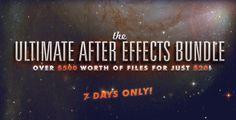 The Ultimate After Effect Bundles a soli 20$ anziché 500$ per un periodo limitato   VideoHive by Envato