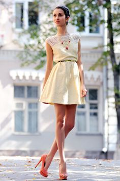 Tina Sizonova: Look of the day: Romantic of lace
