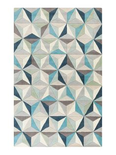 Oasis Hand-Tufted Wool Rug by Surya at Gilt