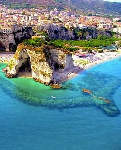 Calabria, Italy - where my great grandparents are from. Definitely want to visit here someday!