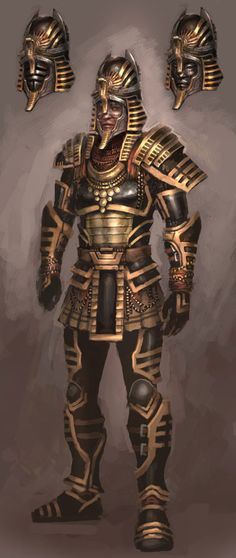 Pharaoh Armor from Guild Wars Nightfall