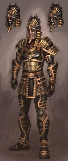 Pharaoh Armor from Guild Wars Nightfall