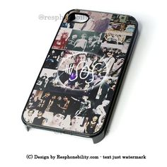 5Sos Ashton Irwin Signature iPhone 4 4S 5 5S 5C 6 6 Plus , iPod 4 5  , Samsung Galaxy S3 S4 S5 Note 3 Note 4 , and HTC One X M7 M8 Case