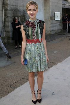 Kiernan Shipka Style & Fashion Best Looks (Glamour.com UK)