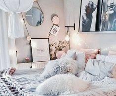 teenbedroom101@ Tumblr. Girls Interior Design Ideas and Color Scheme plus Decor