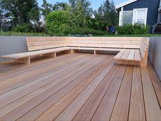 Backyard Seating, Backyard Patio Designs, Garden Seating, Diy Patio, Backyard Landscaping, Outdoor Furniture Plans, Diy Garden Furniture, Garden Sitting Areas, Garden Design