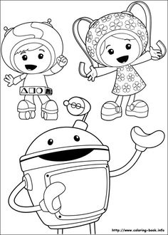 find this pin and more on coloring pages team umizoomi - Team Umizoomi Coloring Pages