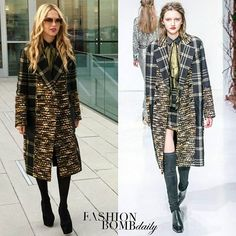 The chic @RachelZoe posed for an effortless Instagram candid clad in a checker print coat from her Fall 2016 collection. Thoughts? #fashionbombdaily #instafashion #instastyle #rachelzoe #celebritystyle #fashion #style #realstyle