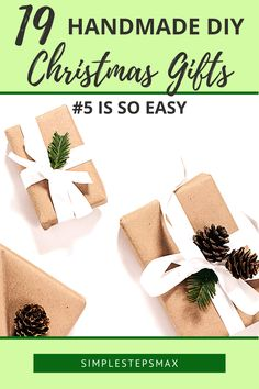 Whether you're on a budget or wanting to gift unique presents this Christmas these DIY ideas can help you. These handmade gifts are easy and perfect for family and friends. #christmasgifts #frugalchristmasideas #christmasonabudget #christmaspresents Christmas Presents For Bestfriend, Easy Christmas Presents, Diy Christmas Gifts For Friends, Christmas On A Budget, Handmade Christmas Gifts, Holiday Gifts, Christmas Holiday, Handmade Gifts, Diy Garage