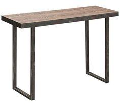 Cooper Classics Fallon Distressed Wood Console Table   55DowningStreet.com