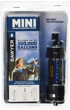 Sawyer Products SP105 MINI Water Filtration System 081f52370