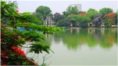 Have a trip to a beautiful lake in the province of Vietnam