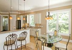 Well-Lit Workspace - Cooks' Kitchens - Kitchen Styles - Design - Kitchens.com. Looking at all aspects of a well planned kitchen.