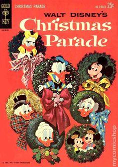 Christmas Parade (1962 Gold Key) 1