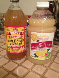 This really works! Grapefruit juice and 2 tsp of apple cider vinger! Burns up them calories