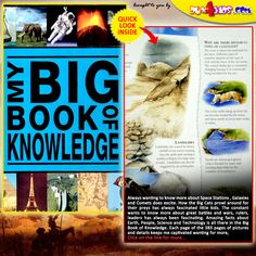My Big Book Of Knowledge  http://dux4kids.com/collections/picture-books/products/my-big-book-of-knowledge