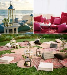 Outdoor picnics with style and elegance!