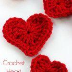 How To Crochet A Heart Plus DIY Heart Garland