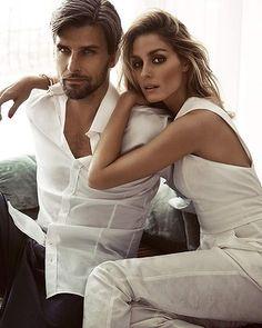 Olivia Palermo & Johannes Huebl For Sunday Life Magazine