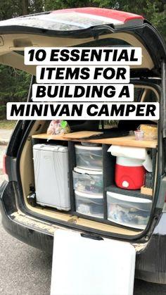 Camping Box, Camping Needs, Camping Glamping, Camping Life, Camping Hacks Tent, Tent Camping Organization, Camping Food Make Ahead, Best Camping Gear, Camping Tricks