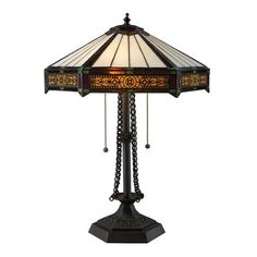 Filigree tiffany table lamp by AutumnElleDesign on Etsy