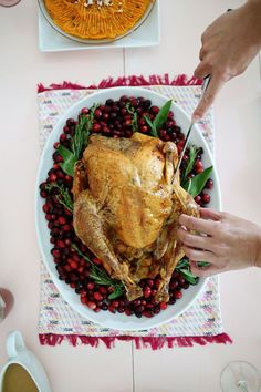 Turkey and fixings