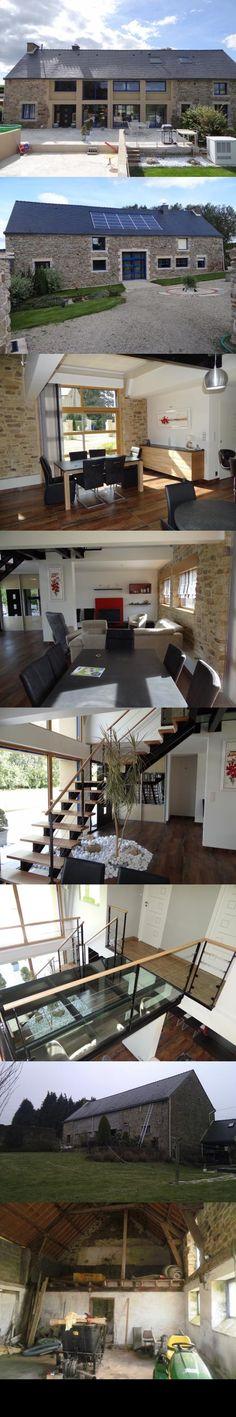 Réhabilitation du0027une maison toit en chaume  Lieu  Existant