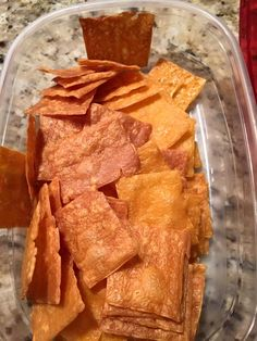 """Sargentios ultra thin cheddar cheese slices. Baked at 250* for 40 minutes or so. The darker ones are crispier. Next time I'll make sure to cook them longer. They have different flavors also. Cheddar jack, pepper jack, Swiss."" ~ from THM Beginners group on FB"