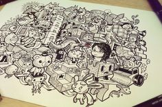 Explore a Doodle Art! - Choco la Design | Choco la Design