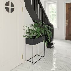 Ferm Living Plant Box, black | Herb/flower pots | Kitchenware | Finnish Design Shop