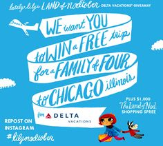 Win a trip to Chicago & shopping spree valued at $4,000!