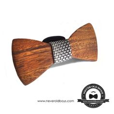 Wooden Bowtie - 'Charleston' from Never Old Boys