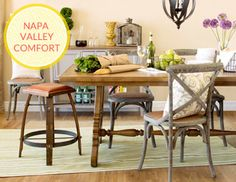 The Look: Vineyard Inn - California-Country Furniture, Glassware & More on Joss and Main