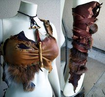 Leather Bracers by ~CaptainMorganTeague on deviantART