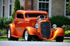 ◆ Visit ~ MACHINE Shop Café ◆ (1934 Chevy Coupé Street Rod)