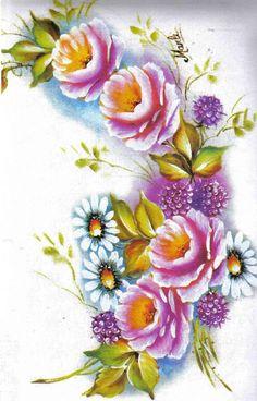 Coleção Pintura em Tecido - 300 Gravuras e Riscos - vol 4 - Rosana Mello - Álbuns da web do Picasa