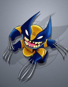 Stitch [as Wolverine] (As Marvel by Unknown) #LiloAndStitch