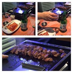 I love #friday night #familydinner - #meat #soju #korea #kimchiCheck out the #weekinmusic section of my blog at http://liamlusk.com/category/week-in-music/