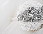 Australian Made Beautiful Brooch Bouquet for Your Dream Wedding