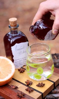 Grapefruit Vodka Bitters Recipe: The bitter taste is a powerful part of digestion that is commonly missing from our daily diets. Learn to make herbal digestive bitters with this amazing grapefruit bitters recipe. Healing Herbs, Medicinal Herbs, Herbal Bitters Recipe, Homemade Bitters Recipe, Grapefruit Health, Natural Medicine, Herbal Medicine, Holistic Medicine, Health And Fitness