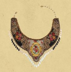 Michal Negrin ~ La Dolce Vita Neck Piece