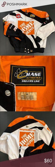 2e2c14d8dc03a Mint Home Depot Tony Stewart Nascar Jacket Men's M Vintage. Mint condition.  Mens Size
