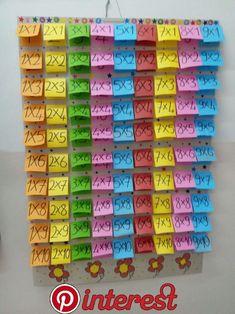 World's Fastest Mental Math Method Teaching Aids, Teaching Math, Kindergarten Math, Math Games, Preschool Activities, Teaching Multiplication, Math Charts, Homeschool Math, 3rd Grade Math