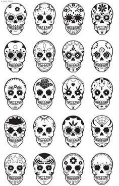 Sugar Skulls <3