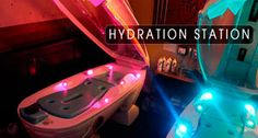 IT`S MONDAY @ Salone Sole` and we have the Hydration Station @ $10!!!!!!!! Get your skin started,recharged and ready for the week!!!!!!!